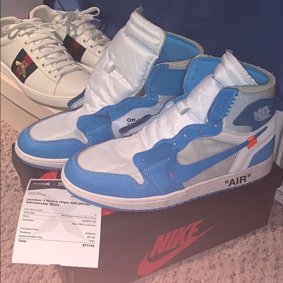 3e16c1aa6 off white air Jordan 1 UNC. M 5c7a0faf04e33d871154b170